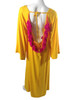 Sundress | Alaia Basic Long Dress Yellow with Fuschia Tassels
