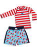 Cute as a Whistle 2 pc swim set