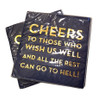 Cheers Napkins  (Set of Two)