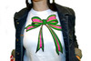 Ribbon with a Twist Fitted Tee