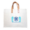 Embroidered Seahorse Canvas Bag Personalized