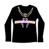 Flamingo-A-Gucci Long Sleeve Black Tee