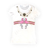 Flamingo-A-Gucci Fitted Short Sleeve Tee