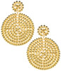 Disk Earrings | Gold