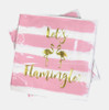 Let's Flamingle Napkins (Set of Two)