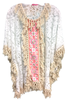 Lace Cover Up with Fringe | White | Insta