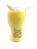 Easy Peasy, Lemon Squeezy!| Plastic Cups | Set of Eight