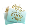 High Tides Good Vibes Napkins (Set of Two)