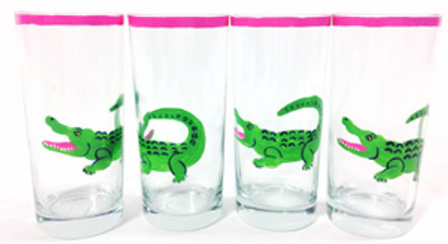 Gator Glasses (set of 4)