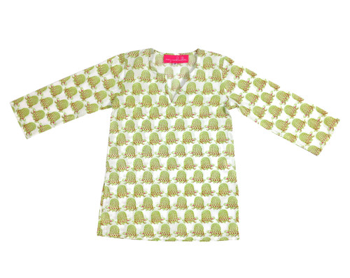 Childrens Tunic Snappy Turtles - Originally $34