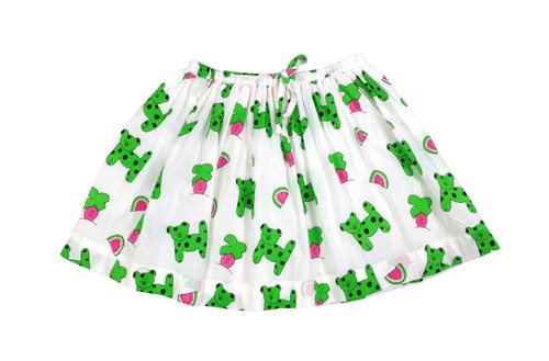 Childs Skirt Snappy Dogs - Originally $52