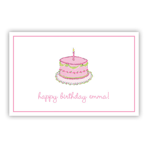 Birthday Girl Paper Placemats (50 Sheets)