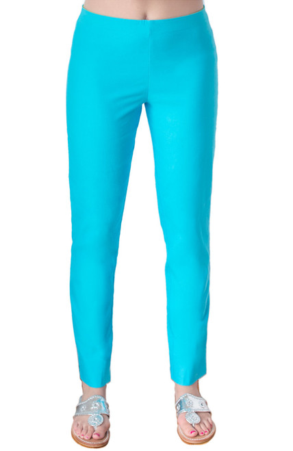 Gretchen Scott Gripe Less Pants | Turquoise