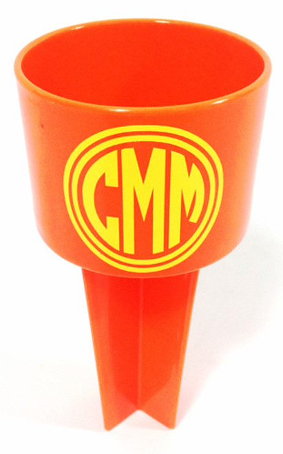 Circle Monogram Double Border Spiker Cup