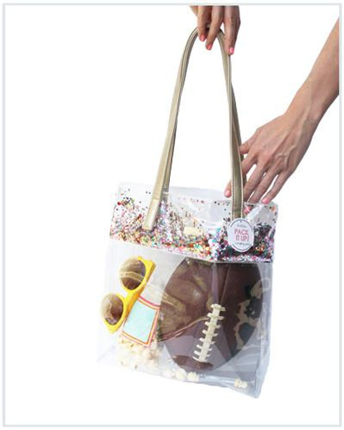 Confetti Stadium Bucket Bag