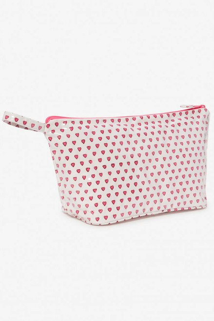 Toiletry Case | Pink Hearts