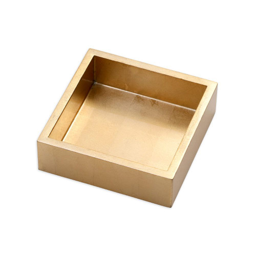 Lacquer Cocktail Napkin Holder | Gold