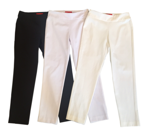 Krazy Larry Pique Pull On Pant