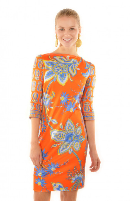 Elemental Dress | Queenie | Orange