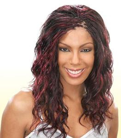 Milky Way Ripple Deep Bulk 100% Human Braiding Hair- 18""