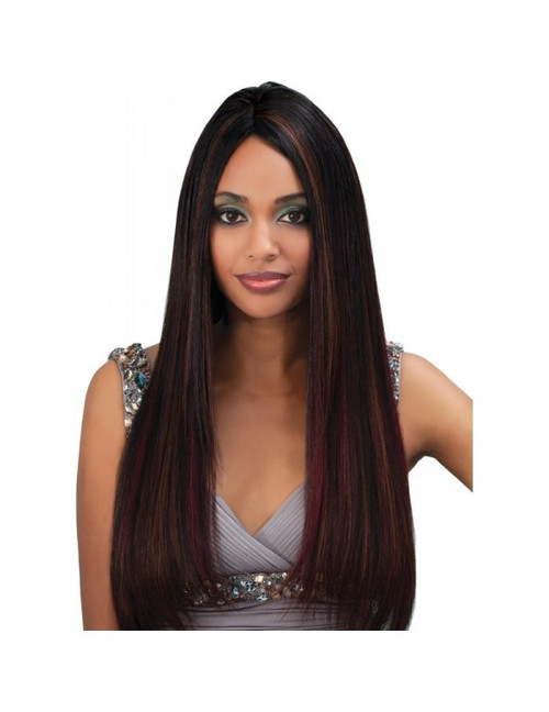 "Bobbi Boss Indi Remi Natural Remi Yaki Weave 10S""-24"""