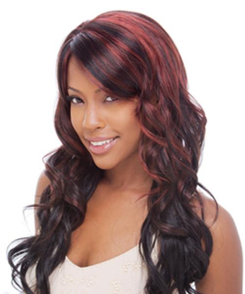 Freetress Synthetic Hair Half Wig Lamont Girl