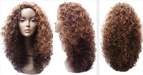 Vanessa Synthetic Hair Half Wig La Fasta