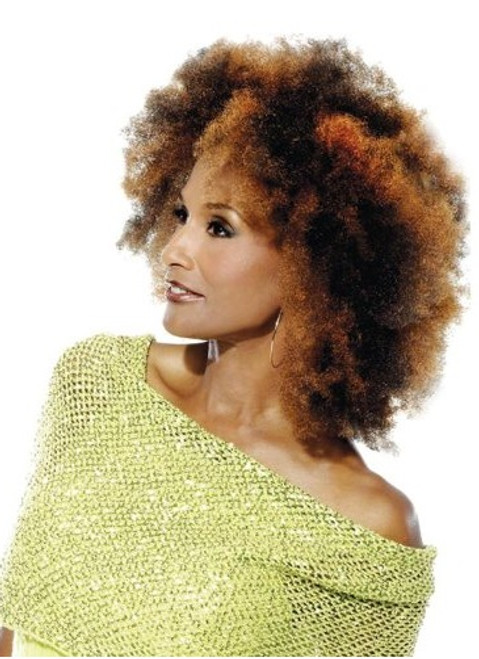 "Beverly Johnson Vivica Fox Kinky Afro Bulk 16"" Human Hair"