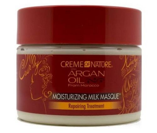 Creme of Nature Moisturizing Milk Masque with Argan Oil from Morocco- 11.5oz