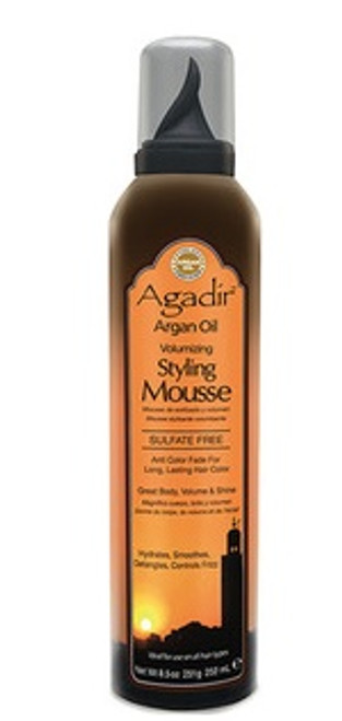 Agadir Argan Oil Volumizing Styling Mousse 8.5oz