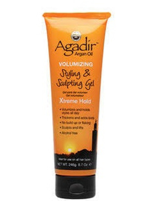 Agadir Argan Oil Volumizing Styling & Sculpting Gel 8.7 Oz