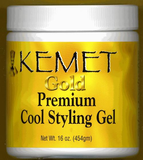 Kemet Gold: Premium Cool Styling Gel 16oz