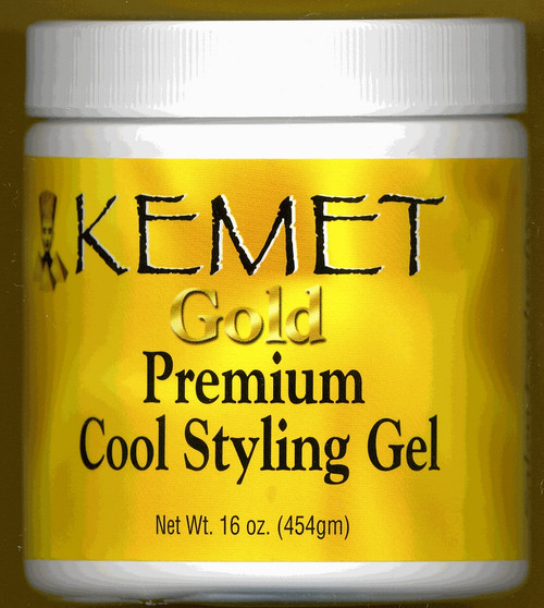 Kemet Gold: Premium Cool Styling Gel 16oz