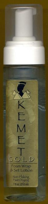 Kemet Gold: Foam Warp & Set Lotion 7 fl.oz.