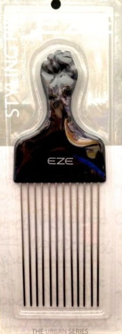 """ANNIE EZE FIST STYLING PIK 8""""x2.75"""" METAL PINS LONG PIK #6674 UNTANGLES LIFTS"""