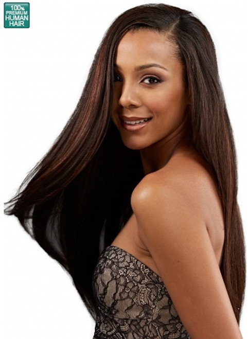 BOBBI BOSS INDINATURAL 100% HUMAN HAIR DREAM YAKY WEAVE