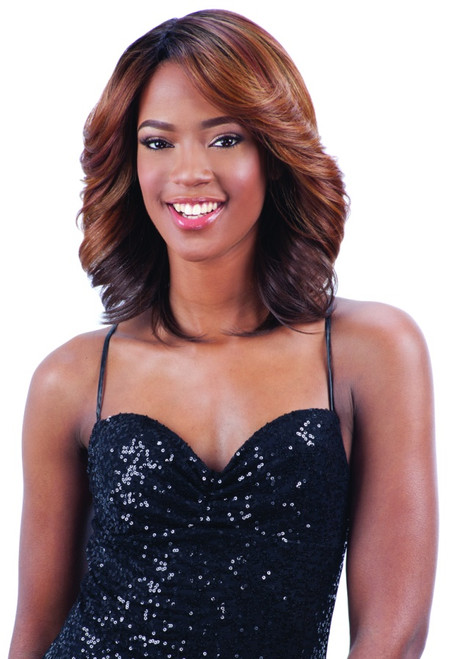 Milky Way Human Hair Blend Wig - CASSIA