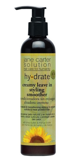 Jane Carter Solution Hydrate Creamy Leave in Styling Smoother - 8 oz pump bottle