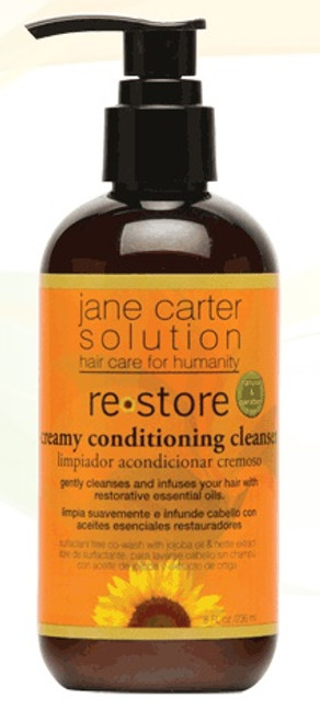 Jane Carter Solution Restore Creamy Conditioning Cleanser, 8oz