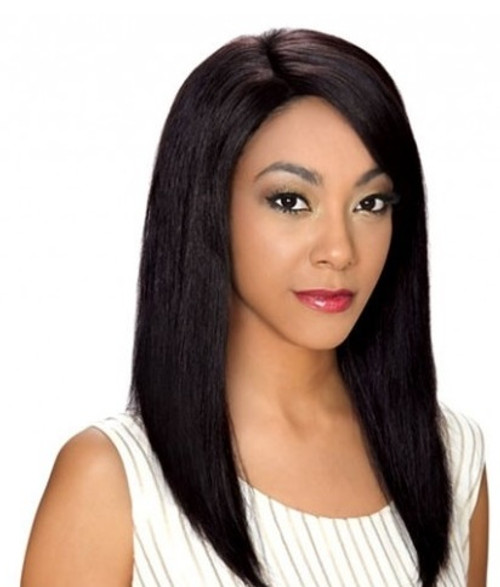 ZURY SIS 100% REMY HUMAN HAIR INVISIBLE TOP PART WIG – CRYSTAL
