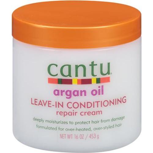 Cantu Argan Oil Leave In Conditioning Repair Cream - 16 oz