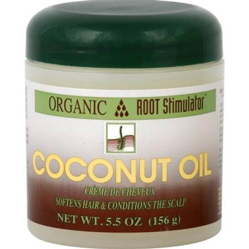 Organic Root Stimulator Coconut Oil - 5.5 oz