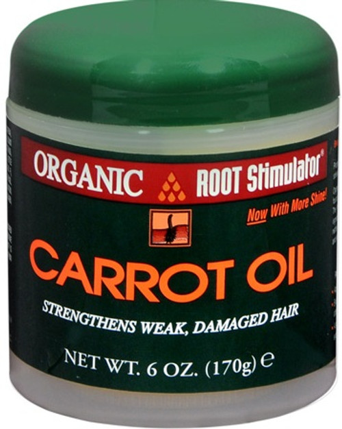 Organic Root Stimulator Carrot Oil 6oz