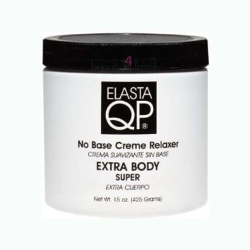 Elasta QP No Base Creme Relaxer Extra-Body- 15oz
