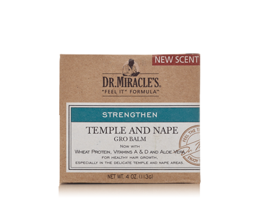 Dr. Miracles Temple and Nape Grow Balm- 4oz