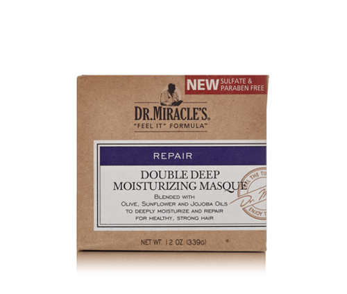 Dr. Miracle's Double Deep Moisturizing Masque- 12oz
