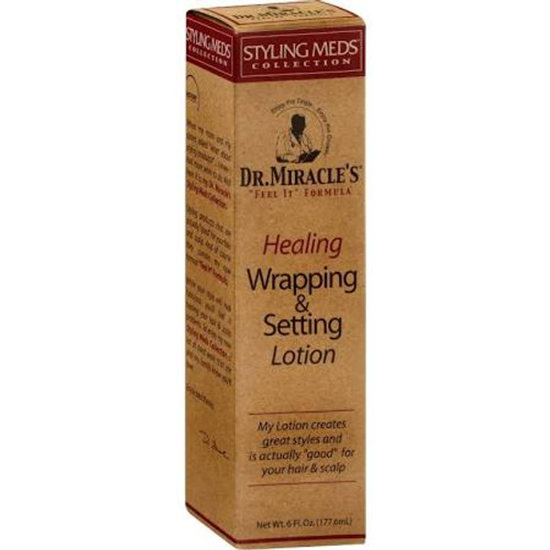 Dr. Miracle's Wrapping & Setting Lotion, Healing- 6oz