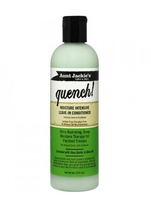 Aunt Jackie's Quench Moisture Intense Leave-In Conditioner 12oz
