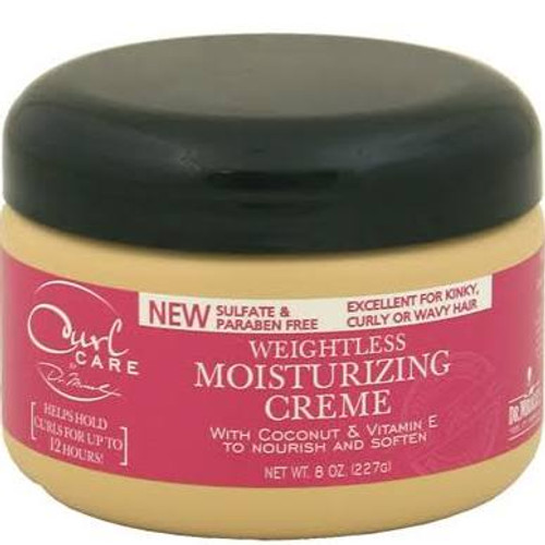 Dr.Miracle's Curl Care Weightless Moisturizing Creme 8oz