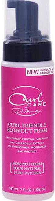 Dr.Miracle's Curl Care Curl Friendly Blowout Foam 7oz